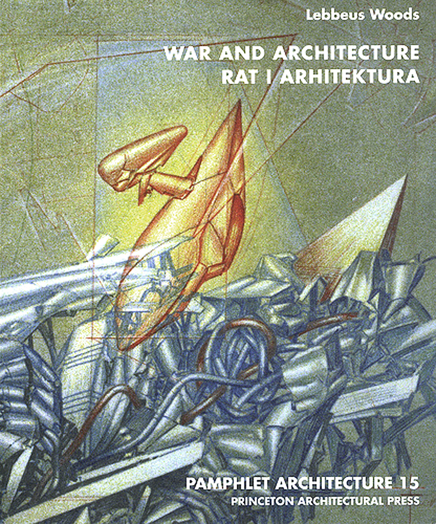 Передняя обложка «War and Architecture», выпуска альманаха «Pamphlet Architecture», который я взял с собой в Сараево в конце ноября 2993 года, во время атаки на город. Я должен поблагодарить его редактора Клэр Якобсон, и издателя Кевина Липперта, которые потратили массу усилий на то, чтобы я мог взять его с собой в мою поездку в Сараево. Текст на английском и хорватском, благодаря Александре Вагнер, которая сделала перевод на язык, который тогда ещё назывался сербо-хорватским. / The front cover of War and Architecture, an issue in the Pamphlet Architecture series that I took with me to Sarajevo in late November, 1993, when the city was under attack. I must thank Clare Jacobson, its editor, and Kevin Lippert, its publisher, who worked hard to ensure that I would have it on the date of my departure for Sarajevo. The text is in English and Croatian, thanks to Aleksandra Wagner, who made the translation of my text in English to what was then still called Serbo-Croatian.
