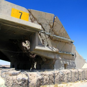 An example of bunker busters at work at Ali Al Salem Air Base, Kuwait.