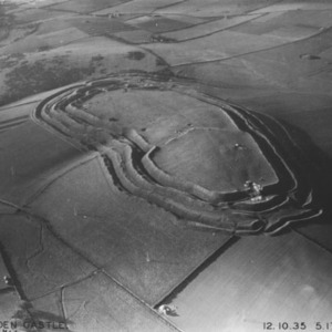 Maiden Castle. The Iron Age hillfort was first built in 600 BC. Remains of a fortified village, Borġ in-Nadur, Malta. Borġ in-Nadur is a notable example of Bronze Age-fortifications.